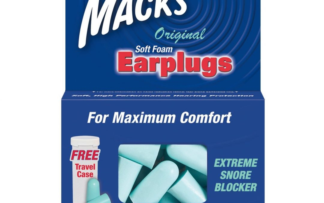 Macks Original Safesound Earplugs (10 Pairs)