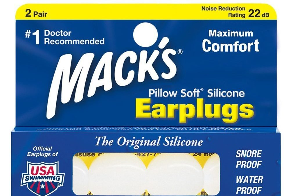 Macks Pillow Soft Ear Plugs White (2 Pairs)