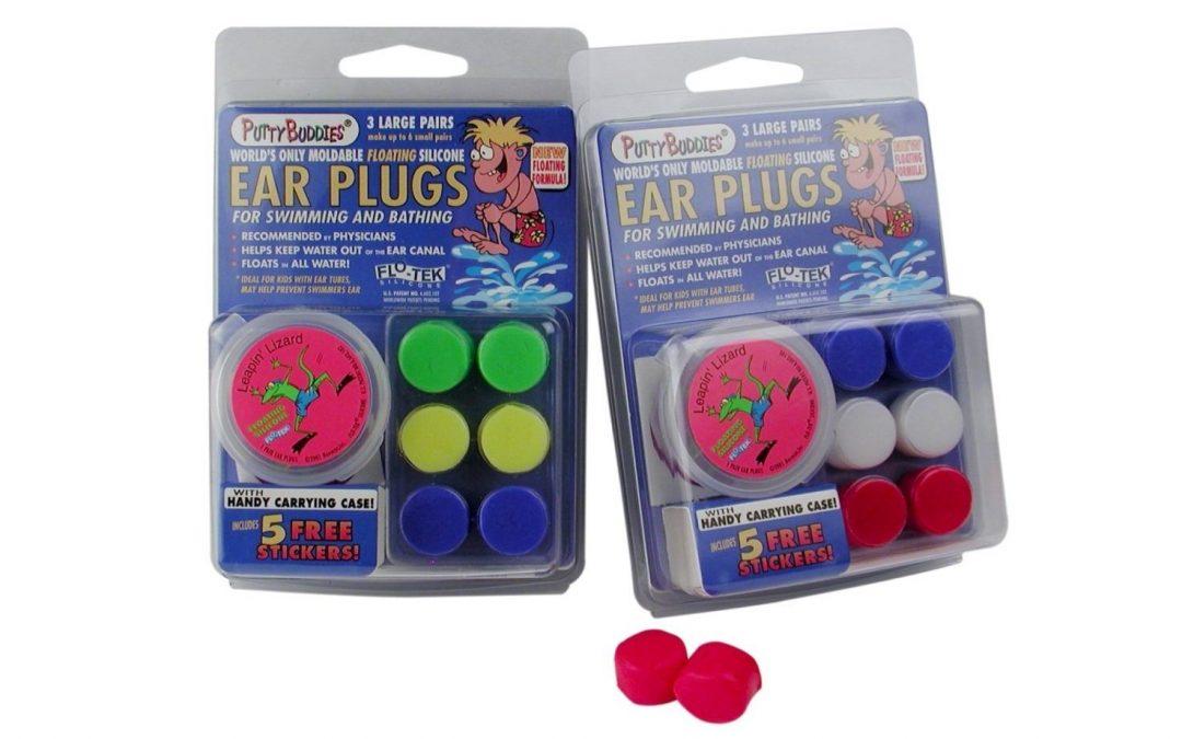 Putty Buddies Floating Moldable Earplugs 5 Packs (15 Pairs of Plugs)