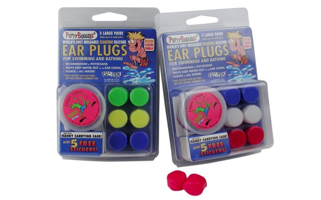 Putty Buddies Earplugs Mouldable Silicone Putty 3 pairs – Colours Vary