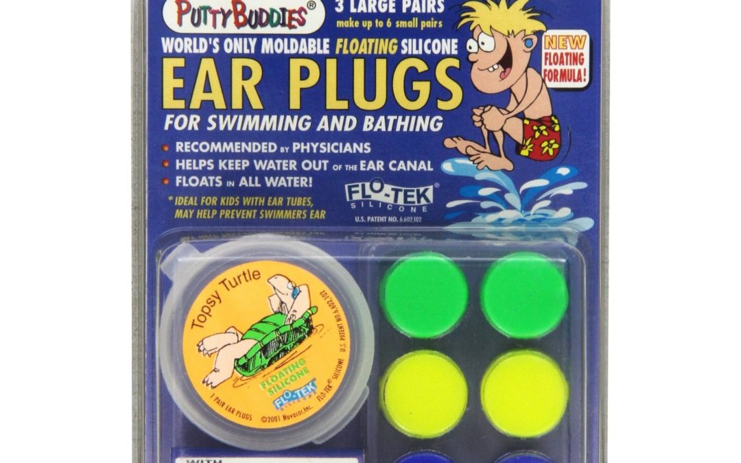 Putty Buddies Floating Moldable Earplugs 2 Packs (6 Pairs of Plugs)
